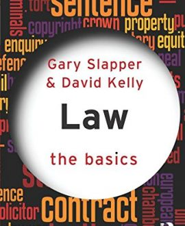 Law: The Basics (Paperback)