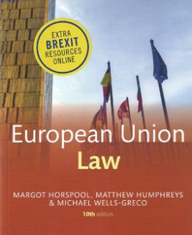 Core Text: European Union Law