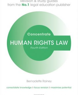Human Rights Law Concentrate