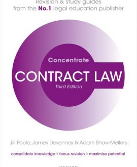 Contract Law Concentrate