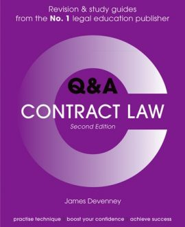 Concentrate Questions and Answers Contract Law