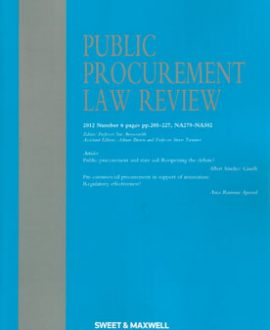 Public Procurement Law Review