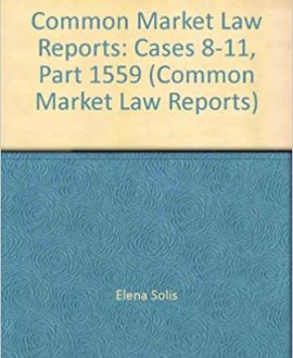 Common Market Law Reports