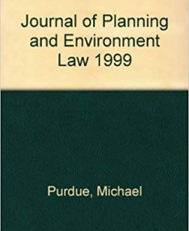 Journal of Planning and Environment Law