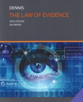 Law of Evidence, The