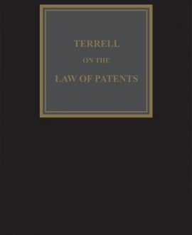 Terrell on the Law of Patents