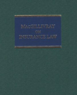 MacGillivray on Insurance Law