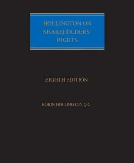 Hollington on Shareholders' Rights
