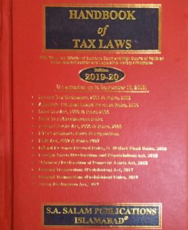 Handbook of Tax Laws