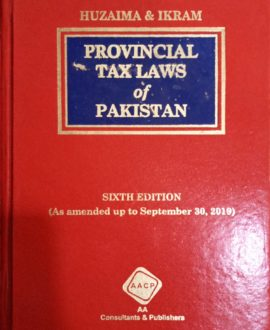 Provincial Tax Laws of Pakistan
