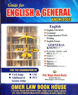 Guide for English & General Knowledge
