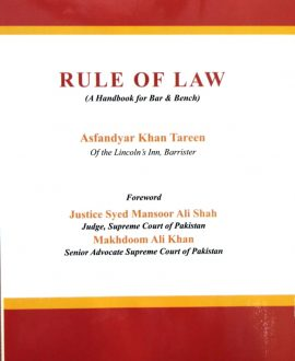 Rule of Law (A handbook for Bar & Bench)