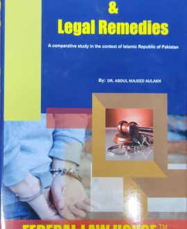 Crime, Criminology & Legal Remedies (Third Edition)