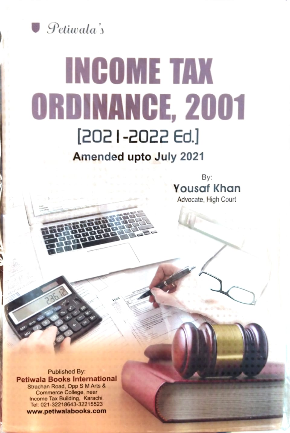 Income Tax Ordinance, 2001 Amended upto July 2021
