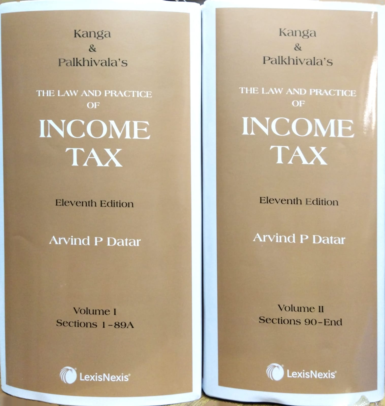 Kanga & Palkhivala's The Law and Practice of Income Tax 11th Edition (02 vols. set)