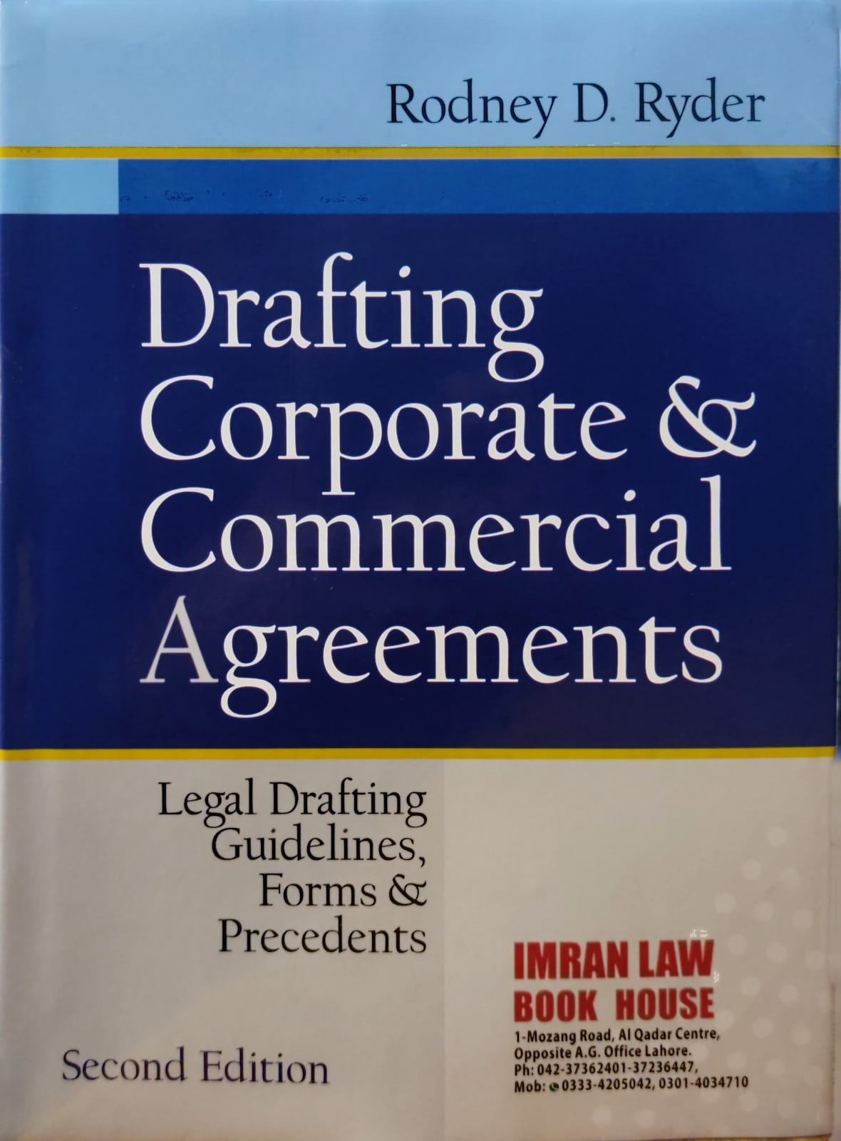 Drafting Corporate & Commercial Agreements